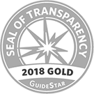 Seal of Transparency 2018 Gold GuideStar
